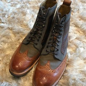 5d1c0f20a59 Like New Stacy Adams MADISON II WINGTIP BOOT
